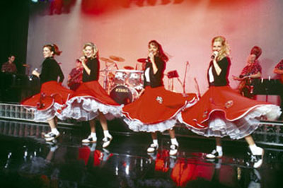 Jingle Bell Rock Christmas Show At 50 S At The Hop Theatre