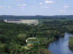 Table Rock Dam from Lake Taneycomo side